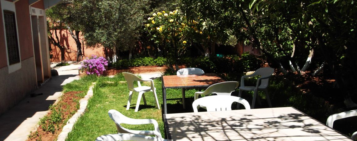 jardin gite kasbah imi nifri
