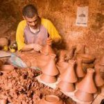 villag potiers artisanat boughrart